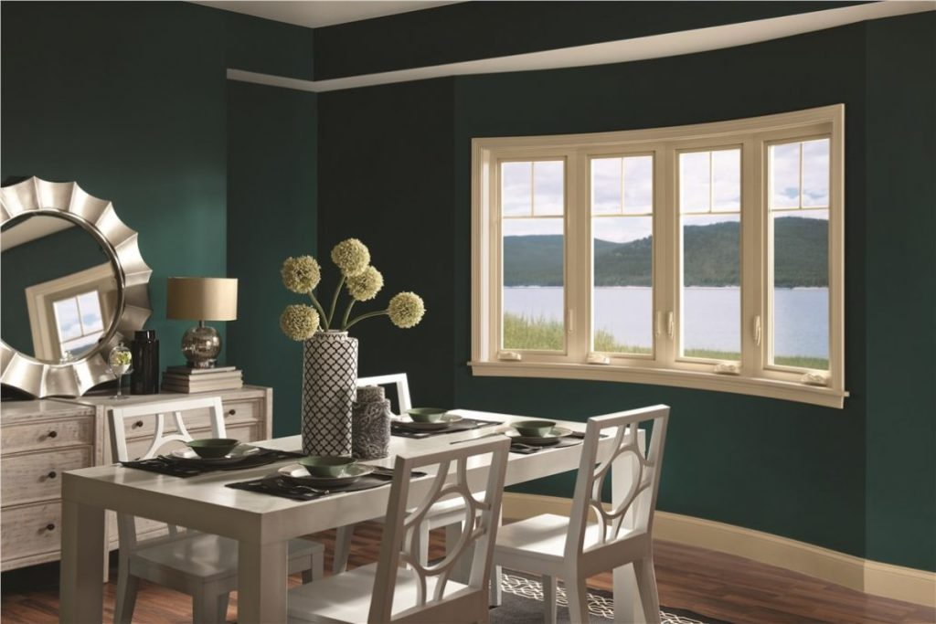 windows in dining room installed by clemens home solutions