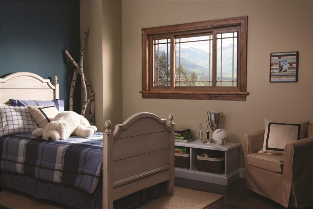 beautiful window in bedroom installed by clemens home solutions