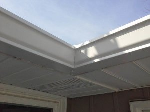 New Gutters On Home In Muncie Muncie Roofing Contractor Clemens