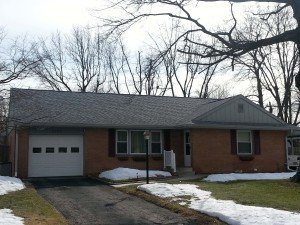 new roof on brick home in muncie installed by clemens home solutions