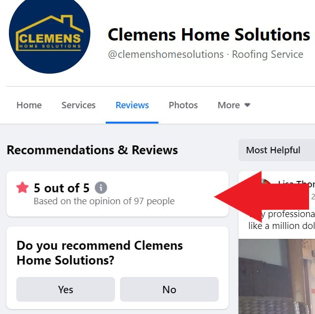 Clemens Home Solutions Facebook Reviews