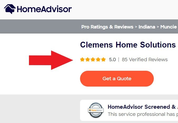 Clemens Home Solutions Homeadvisor Reviews