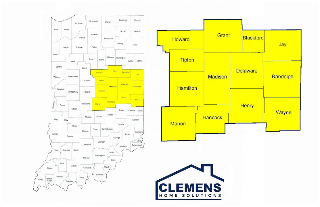 Clemens Home Solutions Service Areas
