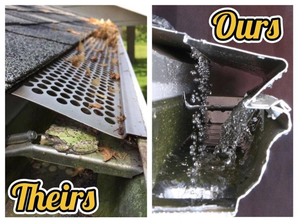 Gutter Protection Comparison Leafx Vs Perforated