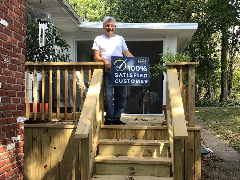 Reputation Satisfied Customer Clemens Home Solutions